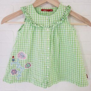 Oilily Sleeveless Gnome Top 116 6y